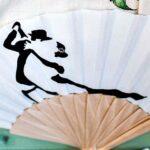 regalos hecho a mano abanico tango