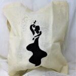 regalos originales hecho a mano pintadas bolsa flamenca 01