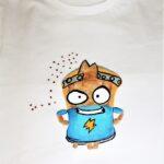 regalos originales hecho a mano pintadas camiseta superzings