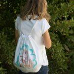 regalos originales hecho a mano pintadas mochila ET 01