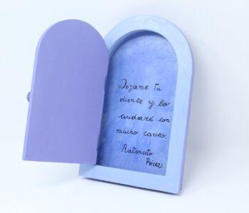 tinzzalo - que ofrecemos - cumpleanos - casita con mensaje Raton Perez